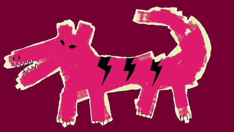 Sort Dog-Lizard Venomous) Richa - richardfyates | ello