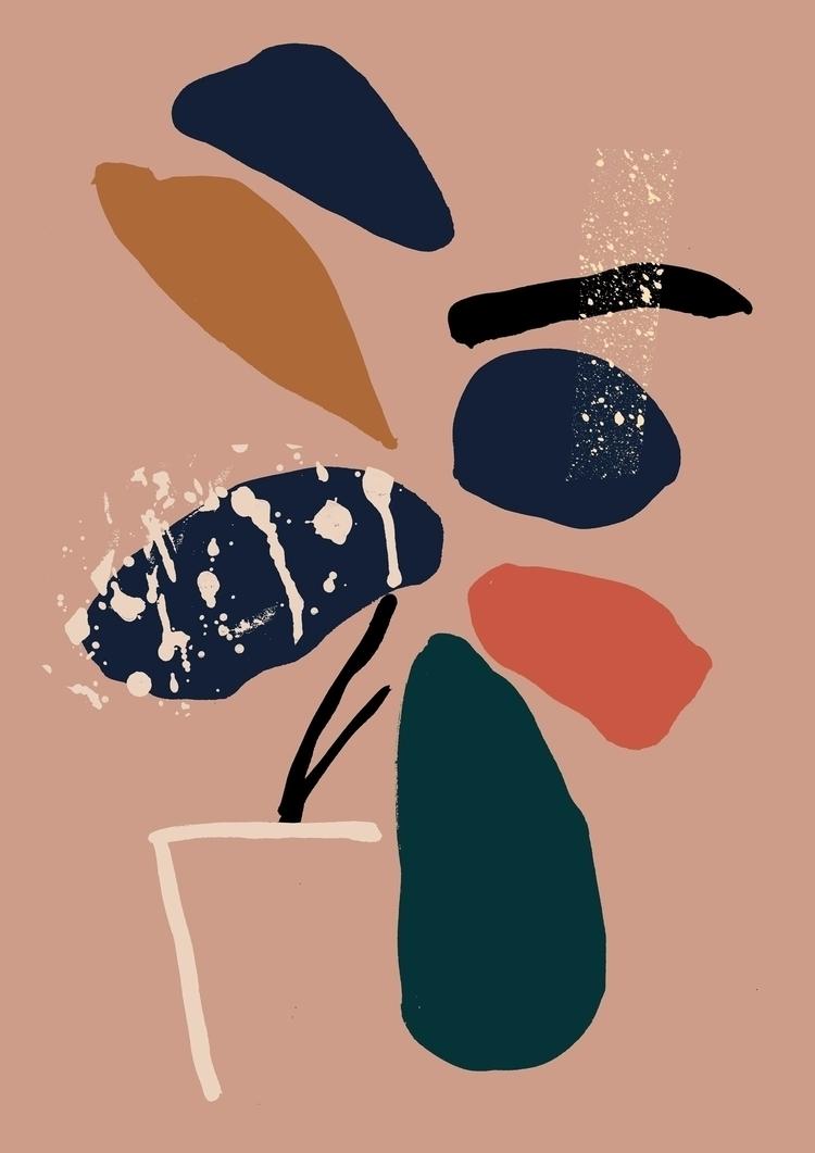 Plant 2018 - Minimal, plant, illustration - eunjeongyoo | ello