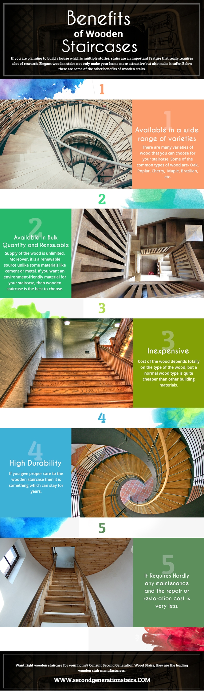 benefits wooden stairs - secondgneration | ello