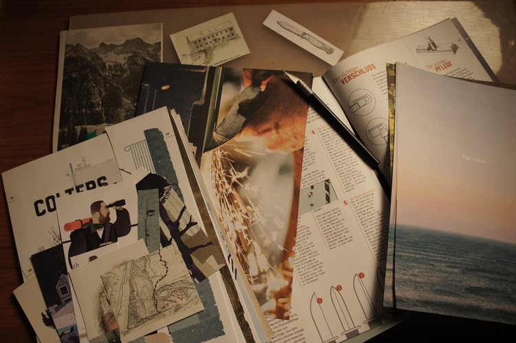 Collecting stuff collage-projec - kunstlinie21grad | ello