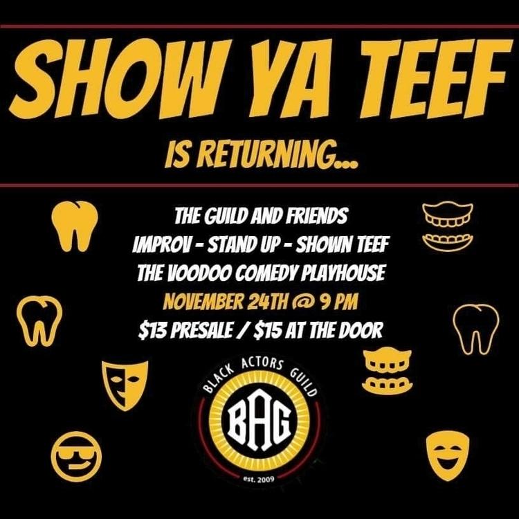 Show Ya Teef // Friday evening  - rodne   ello