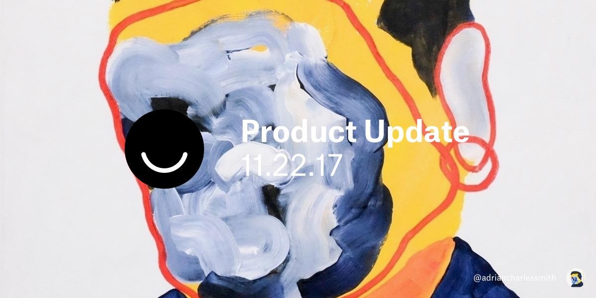 Ello, keeping product update sh - lucian | ello