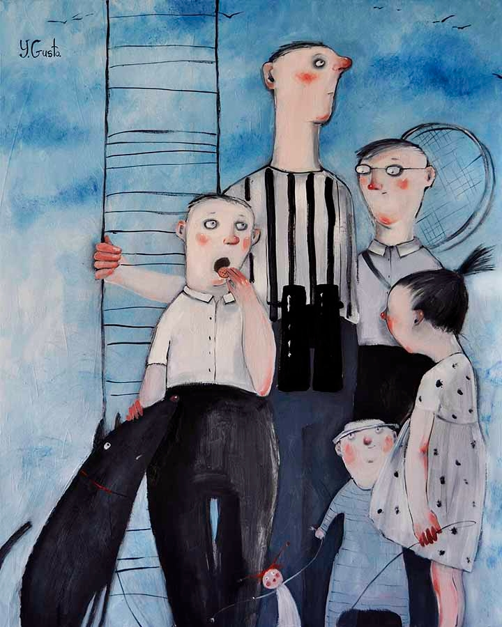 Stairs - contemporaryart, art, artist - yanagusto | ello