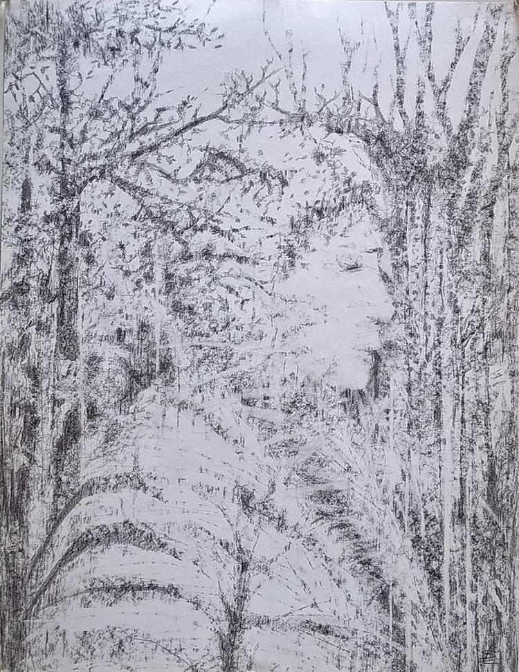 Promenons nous dans les bois - dessin - sylviel | ello