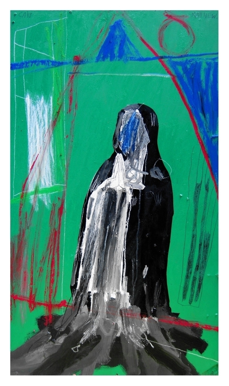 Melting nun. 83x48cm, 2013 - art - carpmatthew | ello