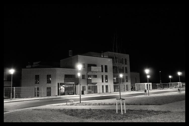 Quiet City - Empty Flats - bw, blackandwhitephotography - sselvejer | ello