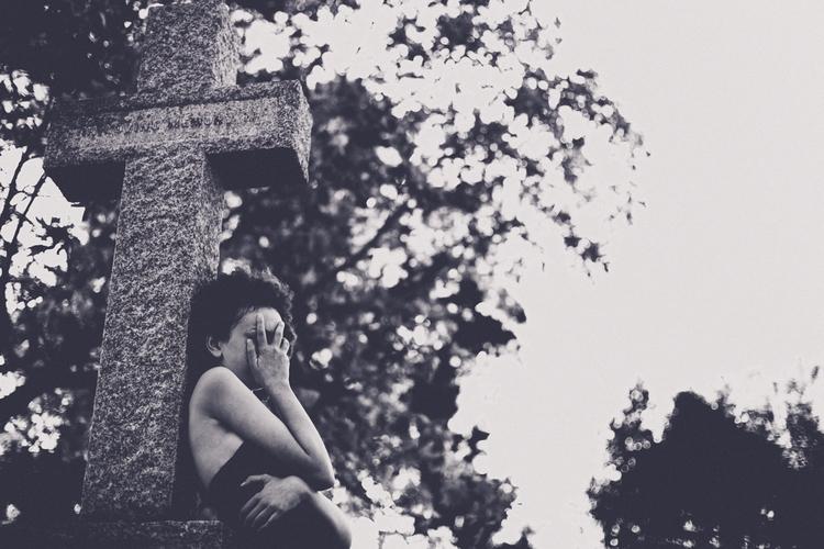 """Frail"" — Photographer: Angelik - darkbeautymag | ello"