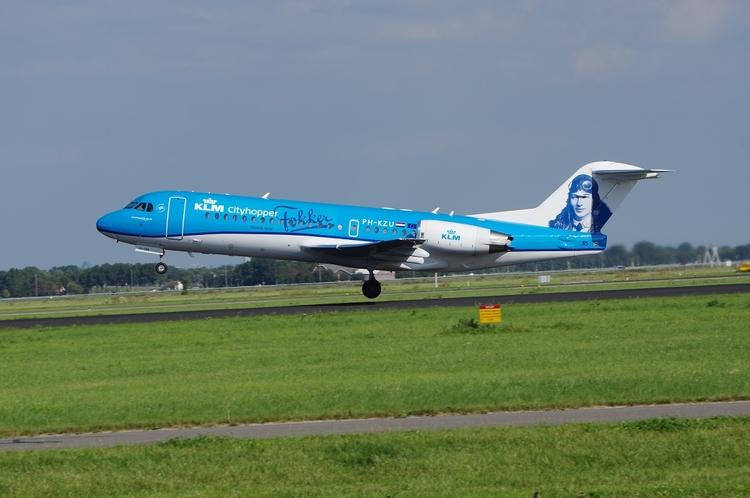 KLM Cityhopper, Fokker 70, Amst - brummi | ello
