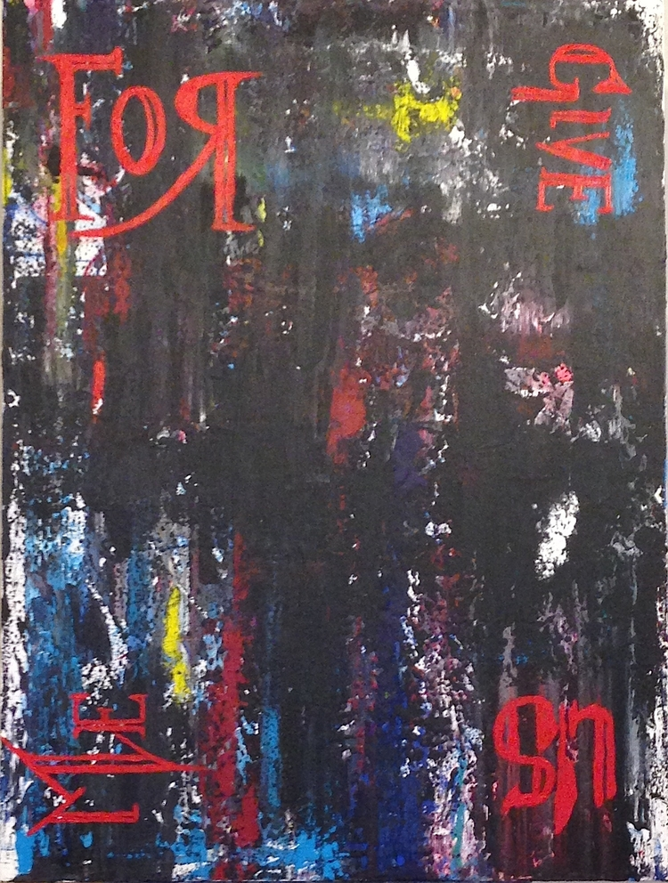 "30""x40"" 2014 acrylic canvas $11 - nuisms | ello"