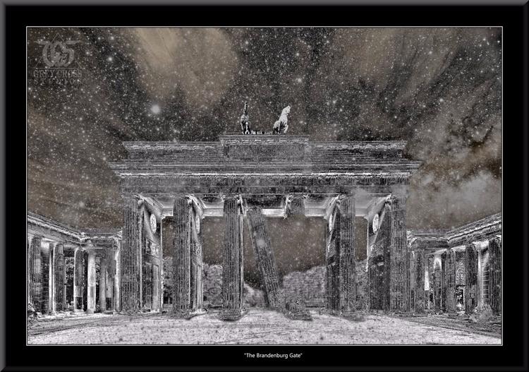 Brandenburg Gate Work Climate C - greycrossstudios | ello