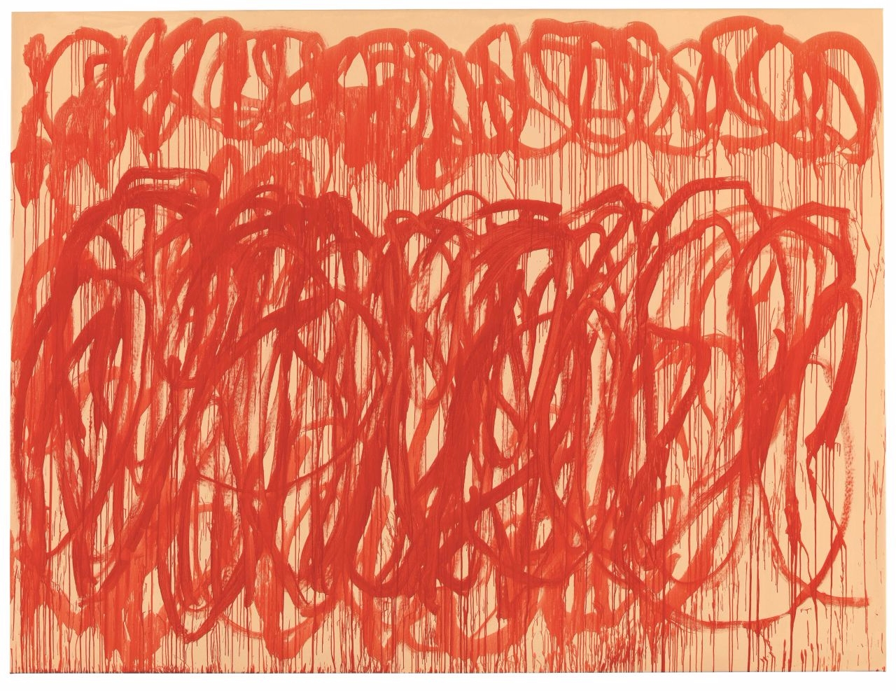 Cy Twombly, Untitled (Bacchus - painting - modernism_is_crap | ello