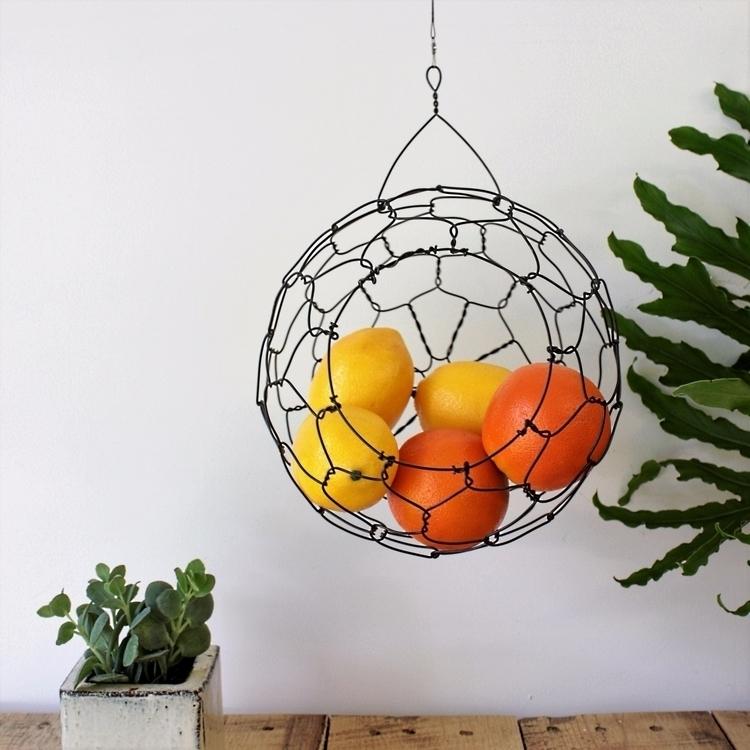 medium size sphere basket. larg - chareststudios | ello