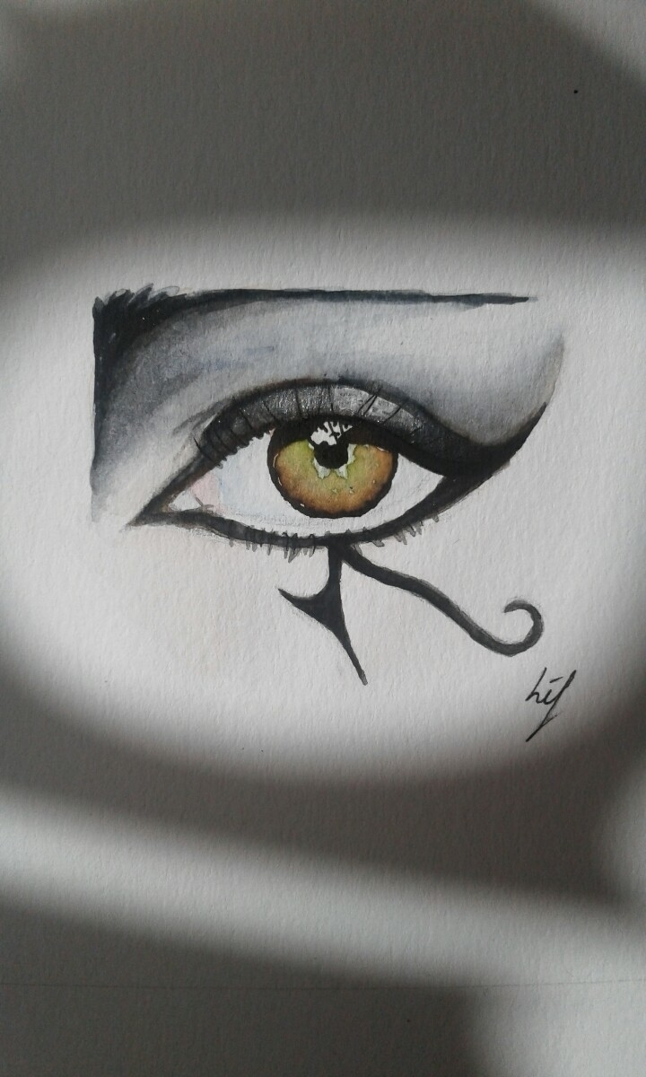 eyestudy watercolour ink 1/4 A4 - lifhaf | ello