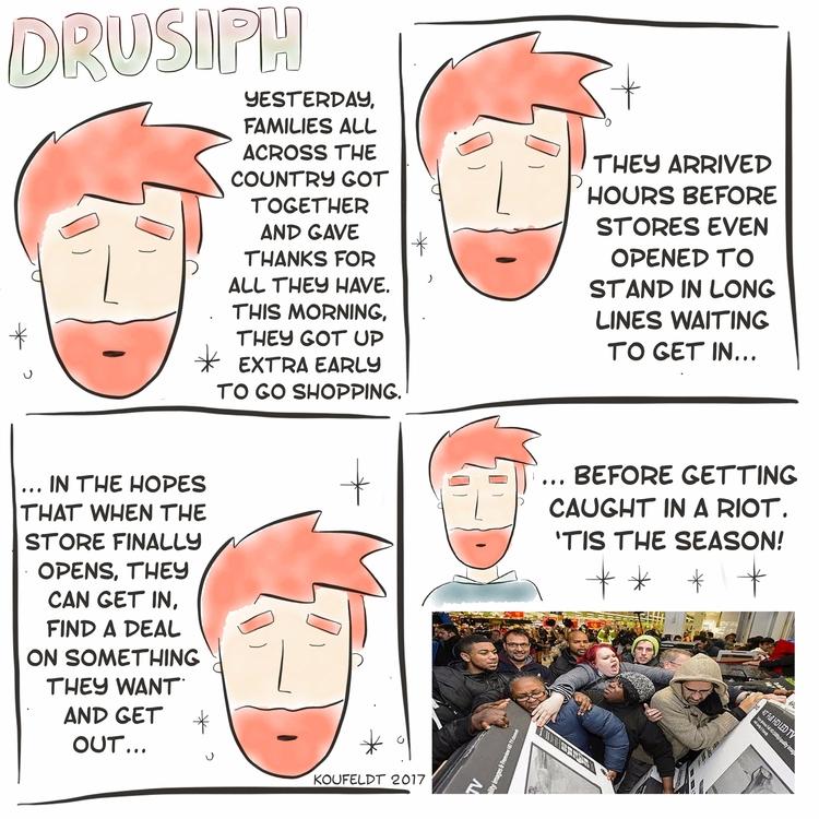drusiph, friday, comic, comicstrip - drusiph | ello
