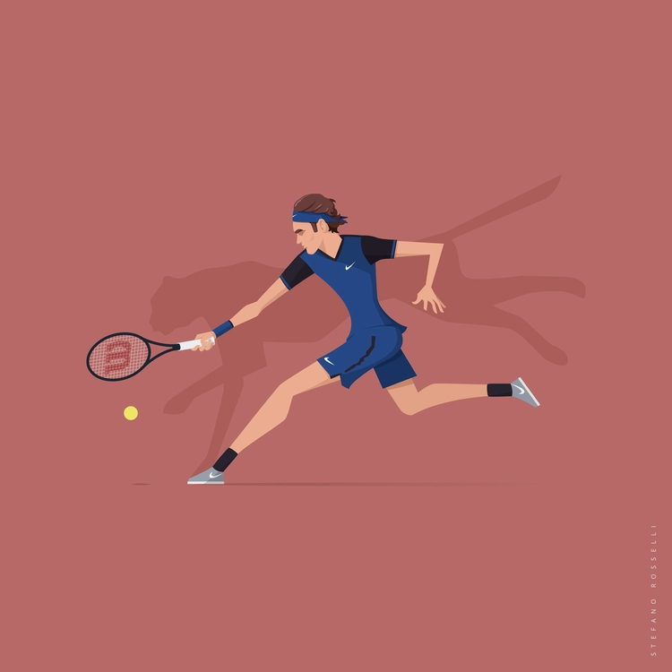 Roger Federer | Hidden Beasts s - stefrosselli | ello