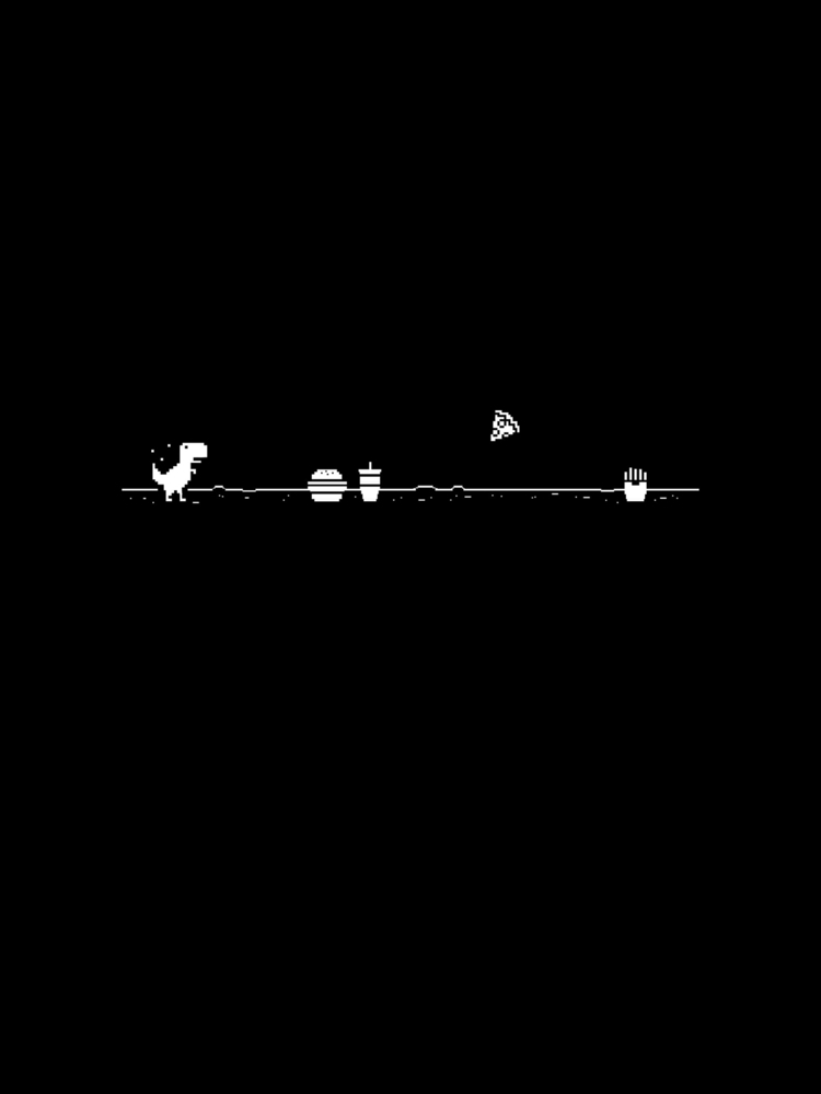 art, illustration, trex, blackandwhite - bygraceho | ello