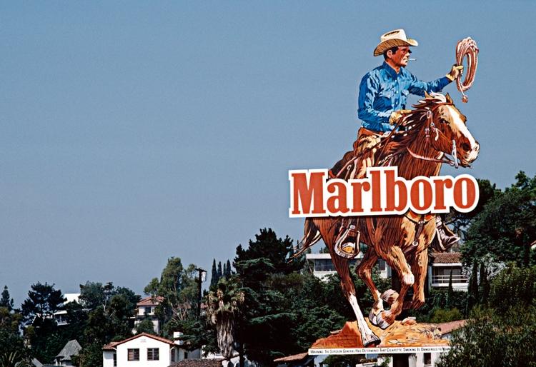 Marlboro Man Advertising city,  - peligropictures | ello