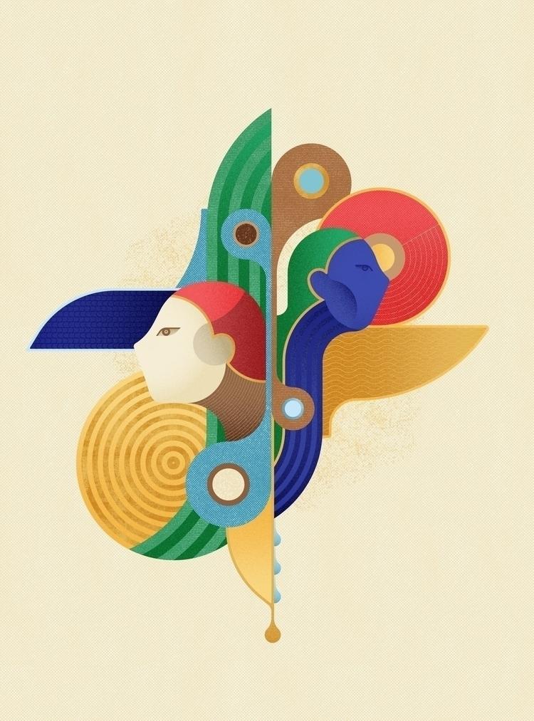 mirror Digital illustration 201 - fabioissao   ello