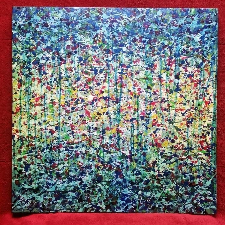 Fish, 2017 Acrylic canvas 20 × - jonqpublik | ello