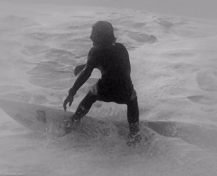 Riding fog Steamer Lane Santa C - jonkahn | ello