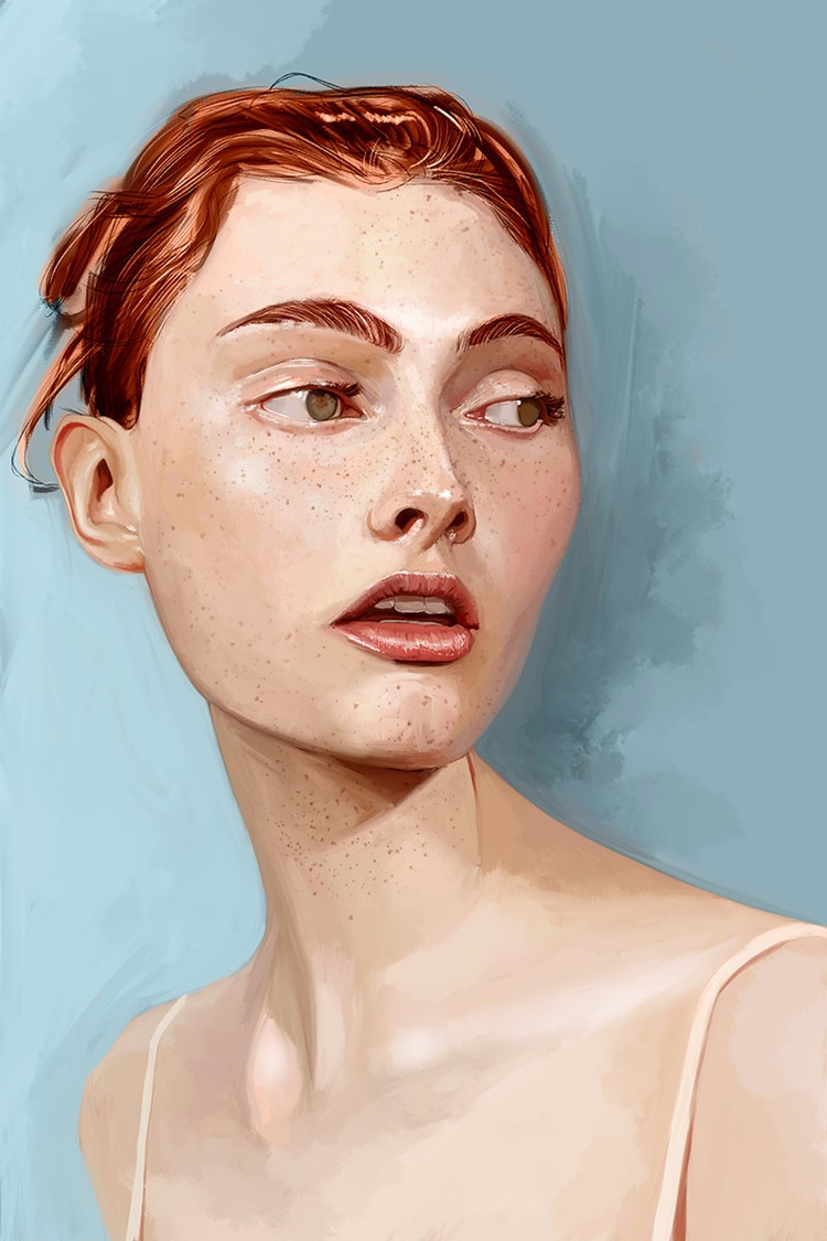 bit - illustration, fineart, portrait - jhherrera | ello