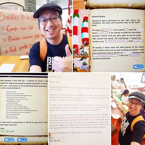 Indulging 7-year writing letter - vicsimon | ello