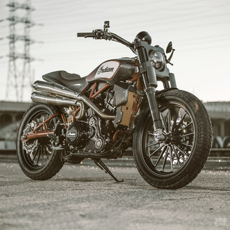 Indian Scout FTR1200 Custom - motorcycles - red_wolf | ello