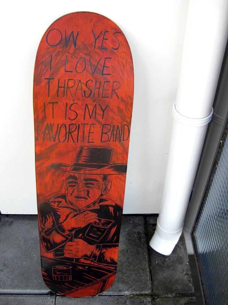 pain - thrasher, cowboy, typography - barrytimmer | ello