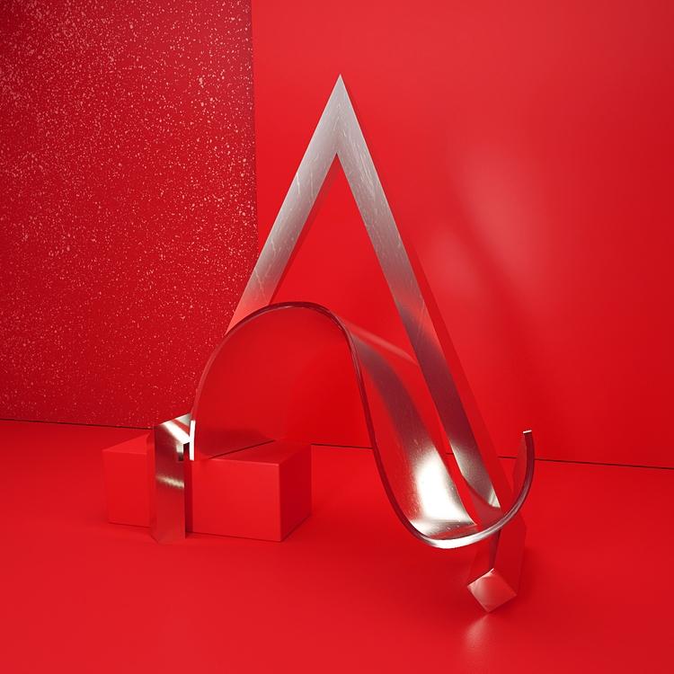 Chrome Type - 3D, Typography, Design - aaaronkaufman | ello