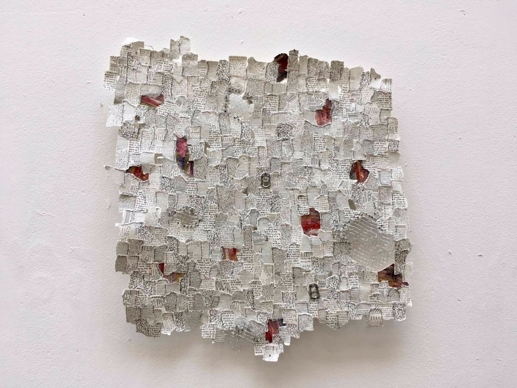 small ripped pieces white paper - mariagoundry | ello