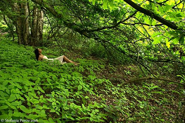 amazing forest. Model: Karolyne - stefaniaporcu | ello