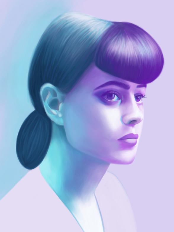 Blade Runner. art - illustration - polilovi | ello