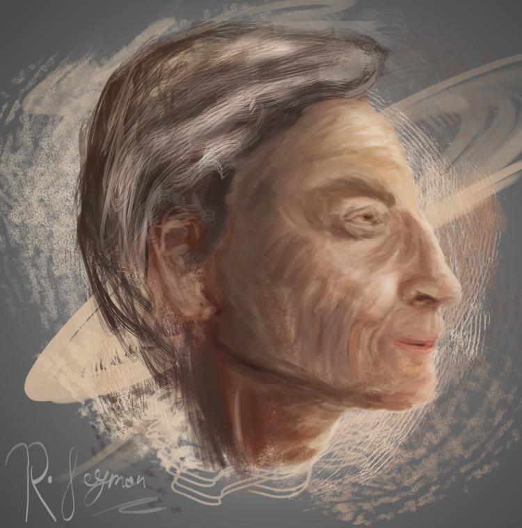 Richard Feynman method drawing - malcolmcrowther | ello