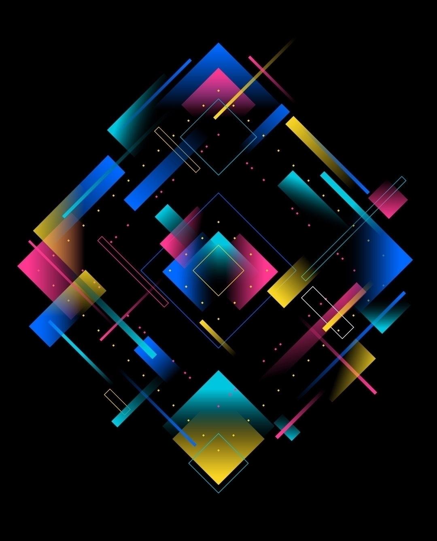 Neon - series illustrations bas - helloseesaw | ello