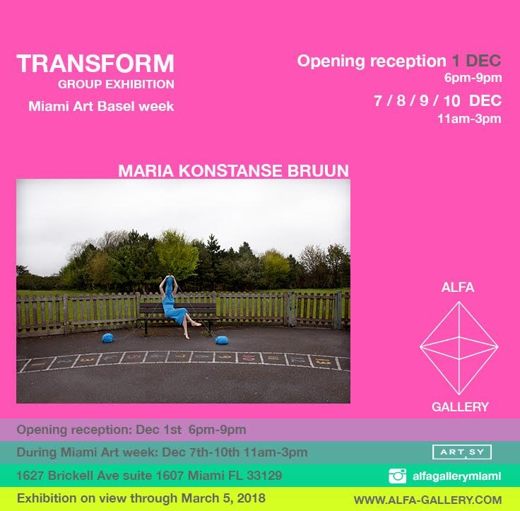 MIAMI check exhibition TRANSFOR - mariakonstanse | ello