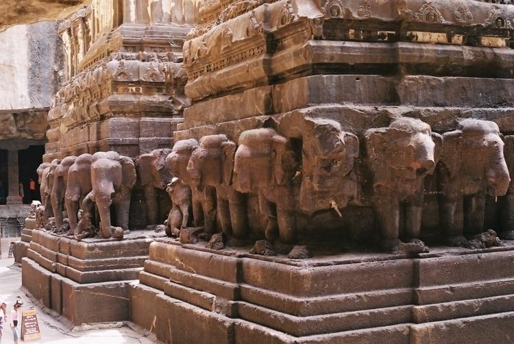 Ellora caves, India. Sept '17 - IncredibleIndia - vees | ello