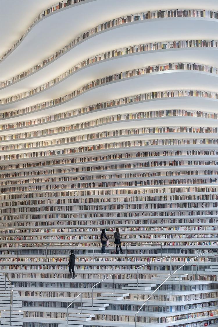opened futuristic library stagg - decorkiki | ello