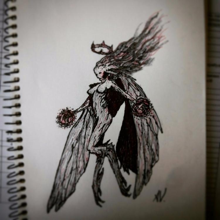 sketches - sketch, art, girl, fantasy - alakeys   ello
