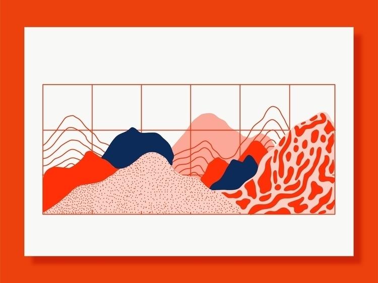 Utopia Landscapes - illustration - michellemildenberg | ello