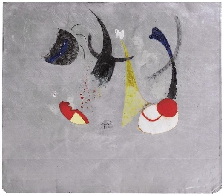 Joan Miró, Painting, 1931. Oil  - modernism_is_crap | ello