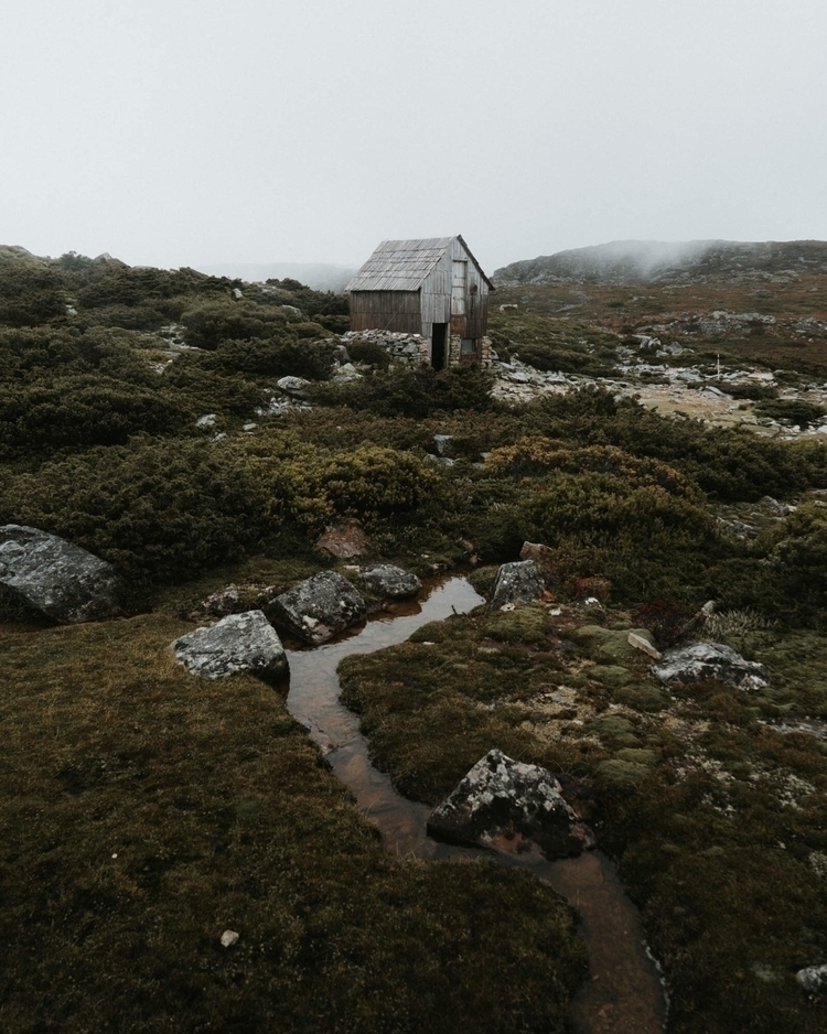 Wooden shacks wilderness  - tasmania - levicaleballan | ello