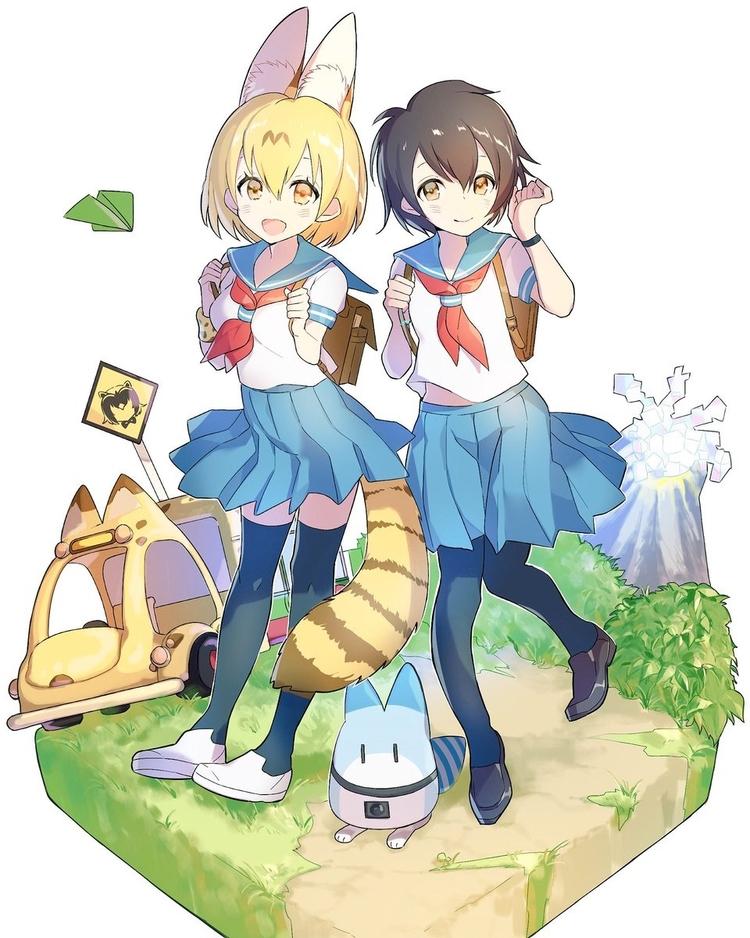 Anime, KemonoFriends, FanArt - shingos | ello