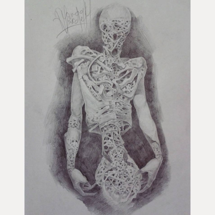 Pencil Paper Tittle Anatomical  - nysroghulverdelet | ello