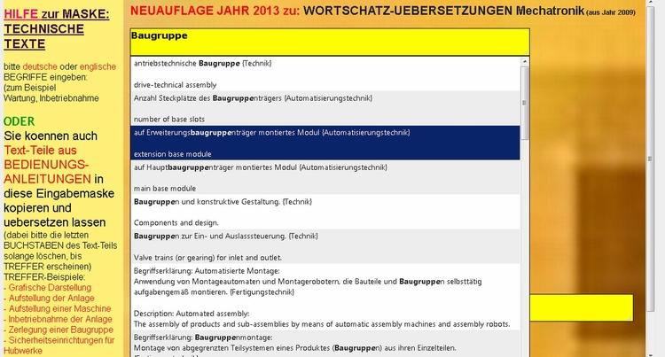 Technical English-German: sente - mechatronik-lehrmittel-wagner | ello