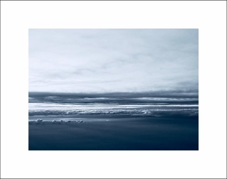 Flying - clouds, minimal, nature - aleksaleksa | ello