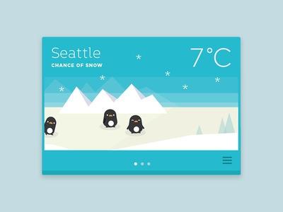 Part weather app idea animals d - ngaiyt | ello