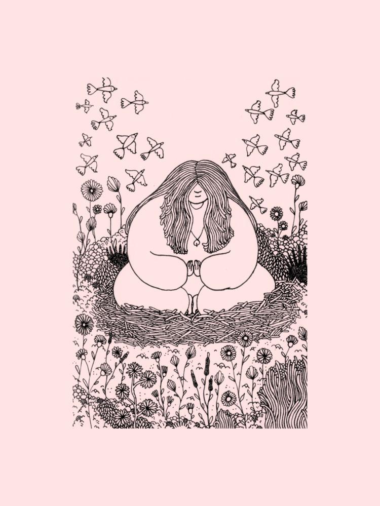 illustration, drawing, handdrawn - marielemaistre | ello