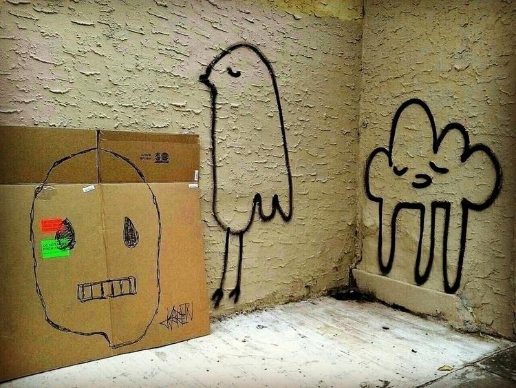 streetart, drawingonthestreet - anthonycandkarenm | ello