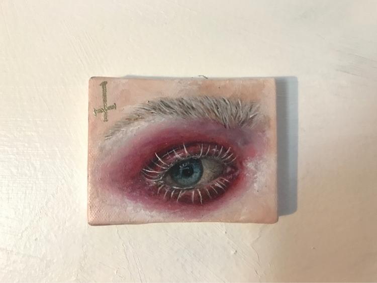 Acrylic canvas - brianamwills, art - brianamwills | ello
