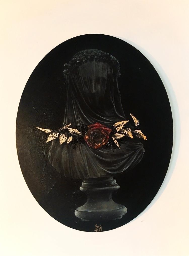 Acrylic canvas. Brianamwills Su - brianamwills | ello